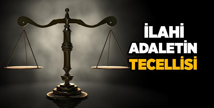 ilahi adalet nasil tecelli eder
